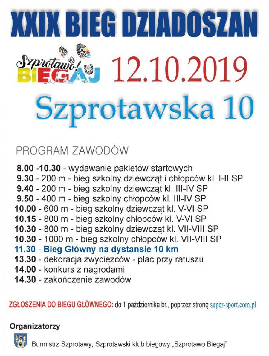 XXIX Bieg Dziadoszan Szprotawa