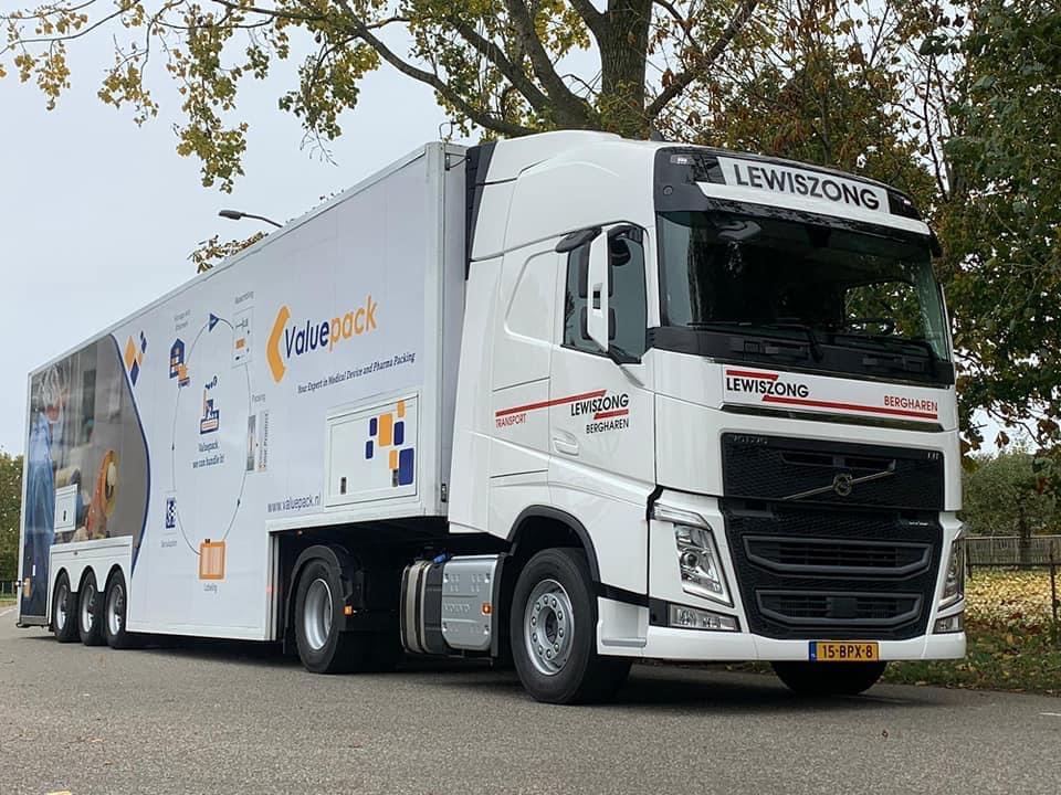nowa ekologiczna ciężarówka Valuepack Volvo